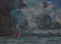 Marine / Aquarelle / 45 x 30