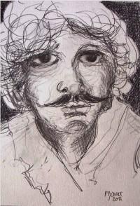 Portrait / Mines de plomb / 30 x 45