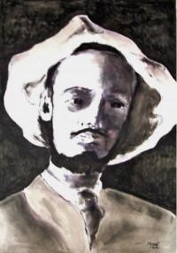 Portrait / Encre / 50 x 70