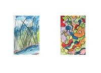 Etudes / Aquarelle / 45 x 30