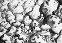 Chaos pierreux / Mines de plomb / 70 x 50