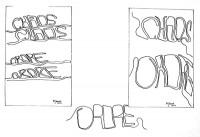 Ordre et chaos / Encre / 30 x 20