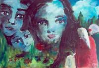 Visions / Acrylique / 50 x 65