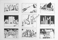 Animal story 2 / Encre / 50 x 65