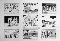Animal story 1 / Encre / 50 x 65