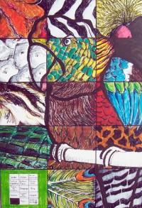 Cherchez la péruche ! / Encre et aquarelle / 50 x 70