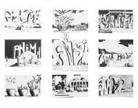 Animal en tout ses états 1 / Encre / 70 x 50