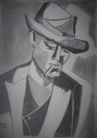 Portrait / Mines de plomb / 30 x 40