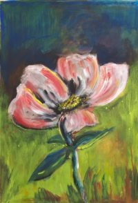 Floraison / Acrylique / 50 x 70