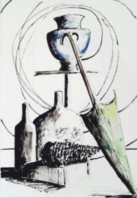Nature morte / Encre / 50 x 70