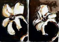 Lys / Acrylique / 50 x 70