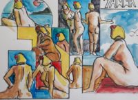 Yanna / Aquarelle / 50 x 30